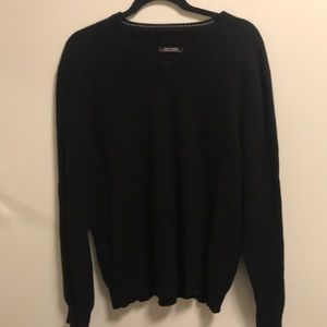 Lord and Taylor Cashmere V-Neck Sweater